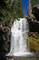 Photo of Upper North Fork Tumalo Falls