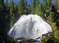 Photo of Chush Falls